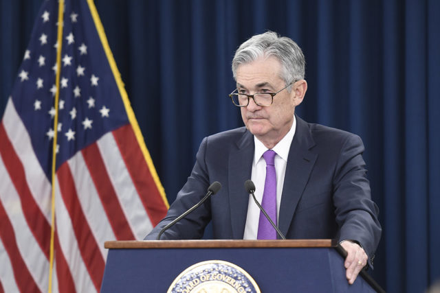 FOMC政策金利利下げ発表でドル安がほぼ確定的。